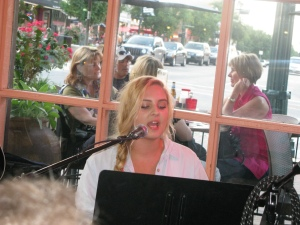 Local artists performing at Spoons
