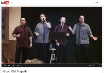 """Good Old Acapella"", March 14, 2015, Allen, Tx"