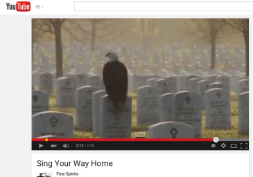 """Sing Your Way Home"""